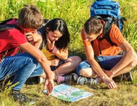 Youth Reading a Map | PCRS