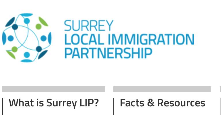 Surrey Local Immigrant Partnership (Surrey LIP)