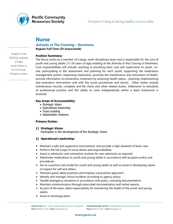 office nurse job description